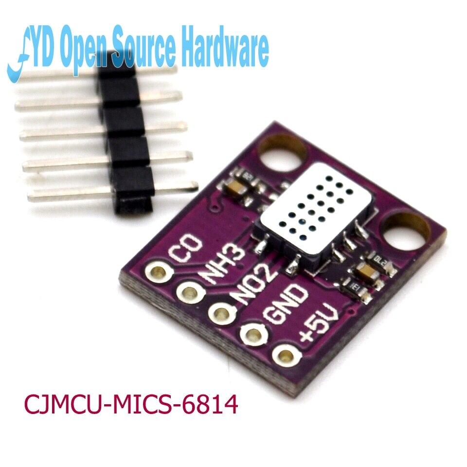 CJMCU-MICS-6814 Qualité De L'air CO COV NH3 D'oxygène D'azote Capteur De Gaz