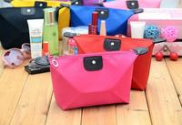 New Arrival Multi-colors Fashion Lady Travel Cosmetic Make Up Pouch Bag Clutch Handbag Casual Purse