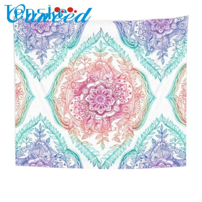 Fashion Heaven Round Hippie Tapestry Beach Throw Roundie Mandala Towel Yoga Mat BohemianToalla de playa Dropshipping Feb21
