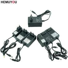 12V 16,8V 21V 25V Carregador de bateria Li lon, carregador para bateria de chave de fenda elétrica furadeira elétrica, plugue de carregamento de especificações da UE/EUA