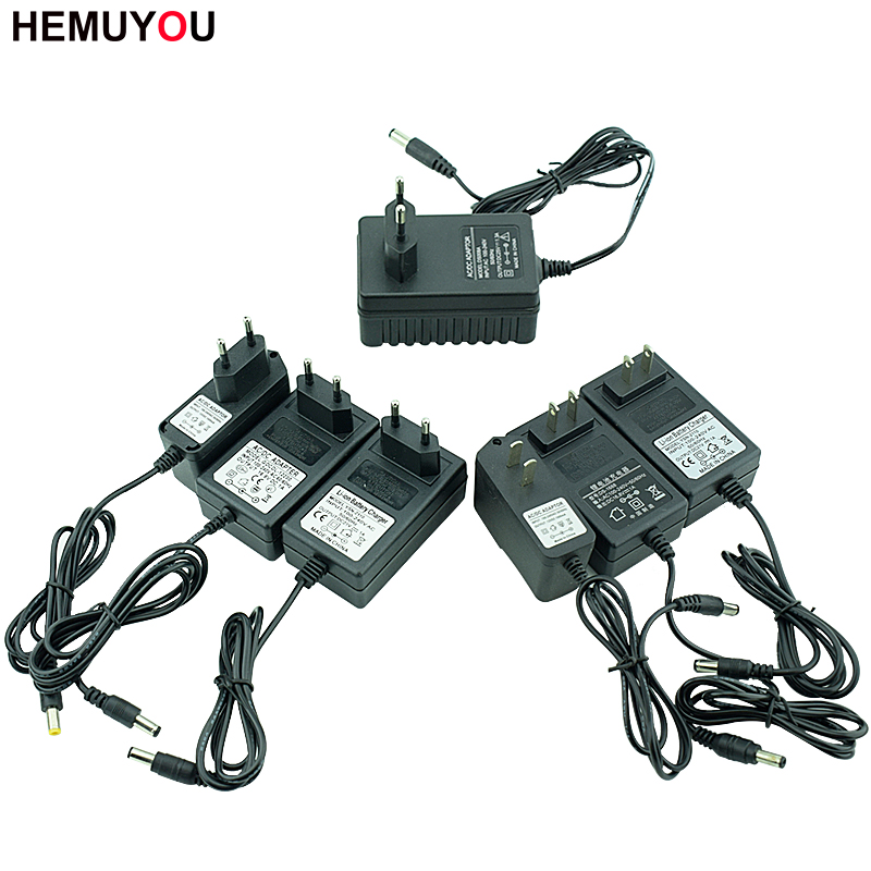 12V 16.8V 21V 25V Li-Ion Battery Charger Electric Drill Electric Screwdriver Battery Charger EU/US Specification Charging Plug