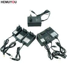 Cargador de batería de iones de litio, 12V, 16,8 V, 21V, 25V, destornillador eléctrico, cargador de batería, enchufe de carga de especificación de la UE/EE. UU.