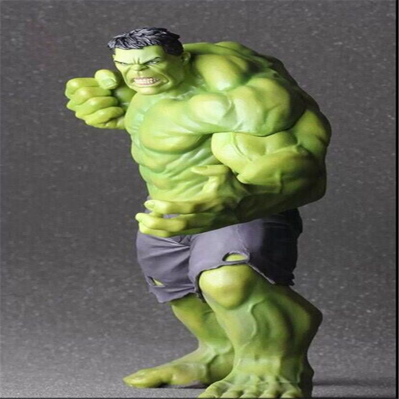 цены new big 60cm hulk pvc doll toys edition props decorations Christmas gift Boy toy Household window dressing