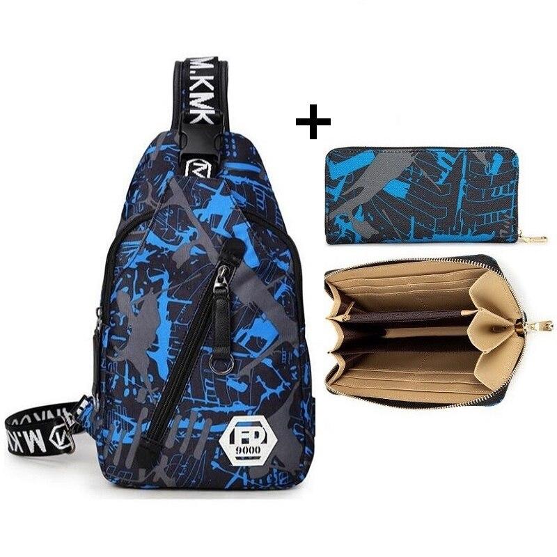 Pacote Peito diagonal saco adolescente dos homens saco Do Mensageiro sling bolsa de ombro bolsa de viagem Bolsa carteira Dos Homens carteiras
