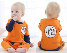 Dragon Ball Goku costume baby clothes Newborn baby rompers long sleeve 100% cotton cartoon baby boy clothes baby jumpsuit romper