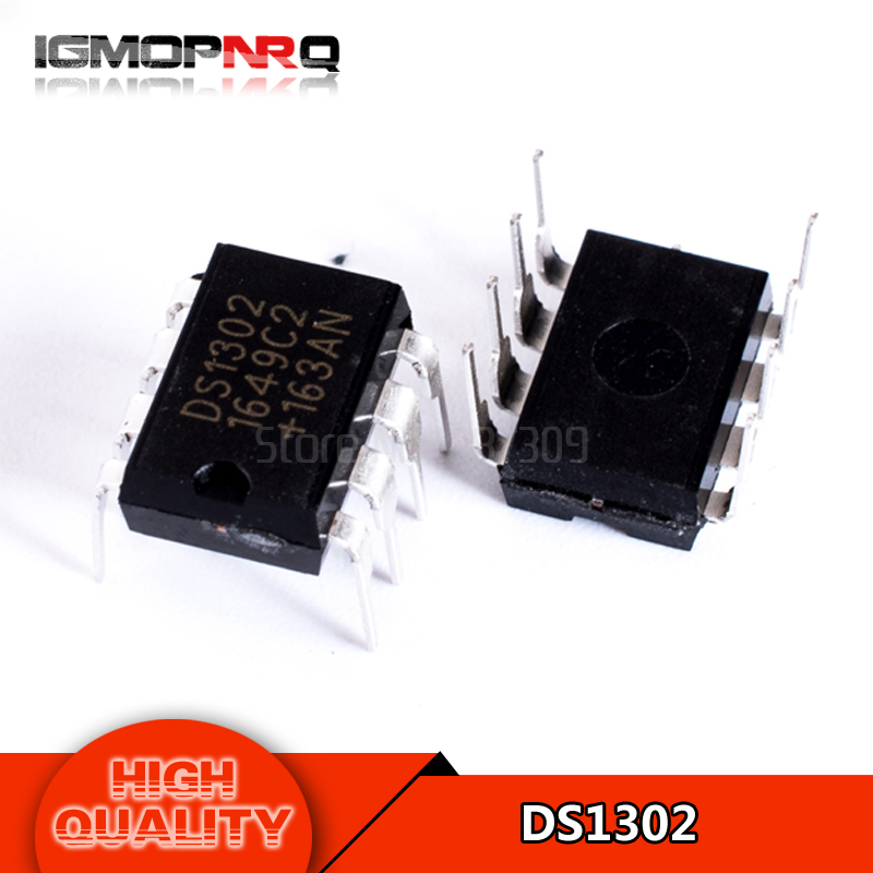 10pcs/lot DS1302N DS1302 DIP Trickle Charge Timekeeping Chip new original free shipping