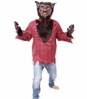 little red riding hood costume wolf costume men teen wolf costume fur wolf costume animal cospaly funny performance clothing
