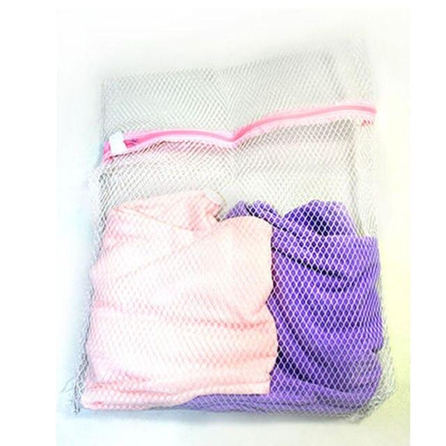 1pcs 3 Size Aid Mesh Net Wash Bag Pouch Basket Clothes Washing Machine Laundry Bra