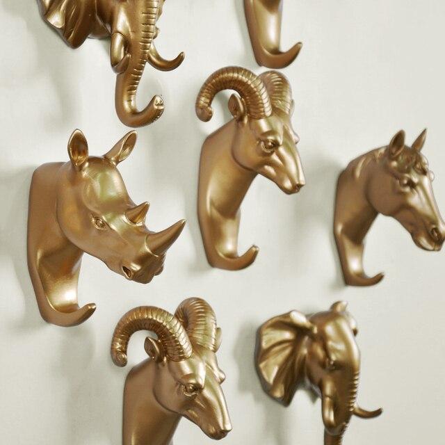 Kerst Decoratie Decoratieve Haak Dier Herten Creatieve Resin Model