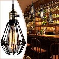 Classic Lamp Retro Pendant For 110 220v E27 Socket Loft Droplight FG