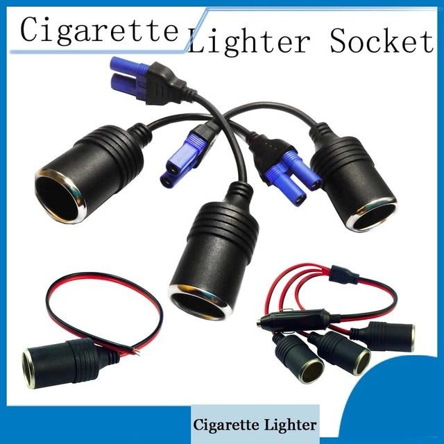 Multi-Function Auto Accessories 12V EC5 / Car Charger Connector Car Cigarette Lighter Socket for Car Camera Car Refrigerator