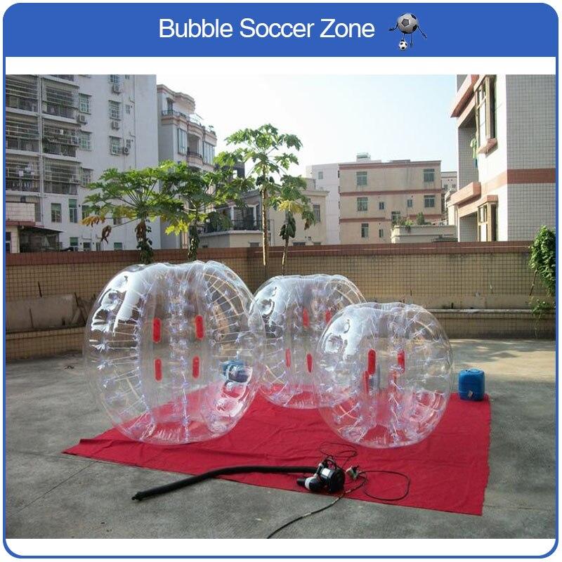 Livraison gratuite bulle gonflable ballon de Football bulle de Football gonflable balle pare-chocs jeux amusants adulte balle rebondissante boule Zorb
