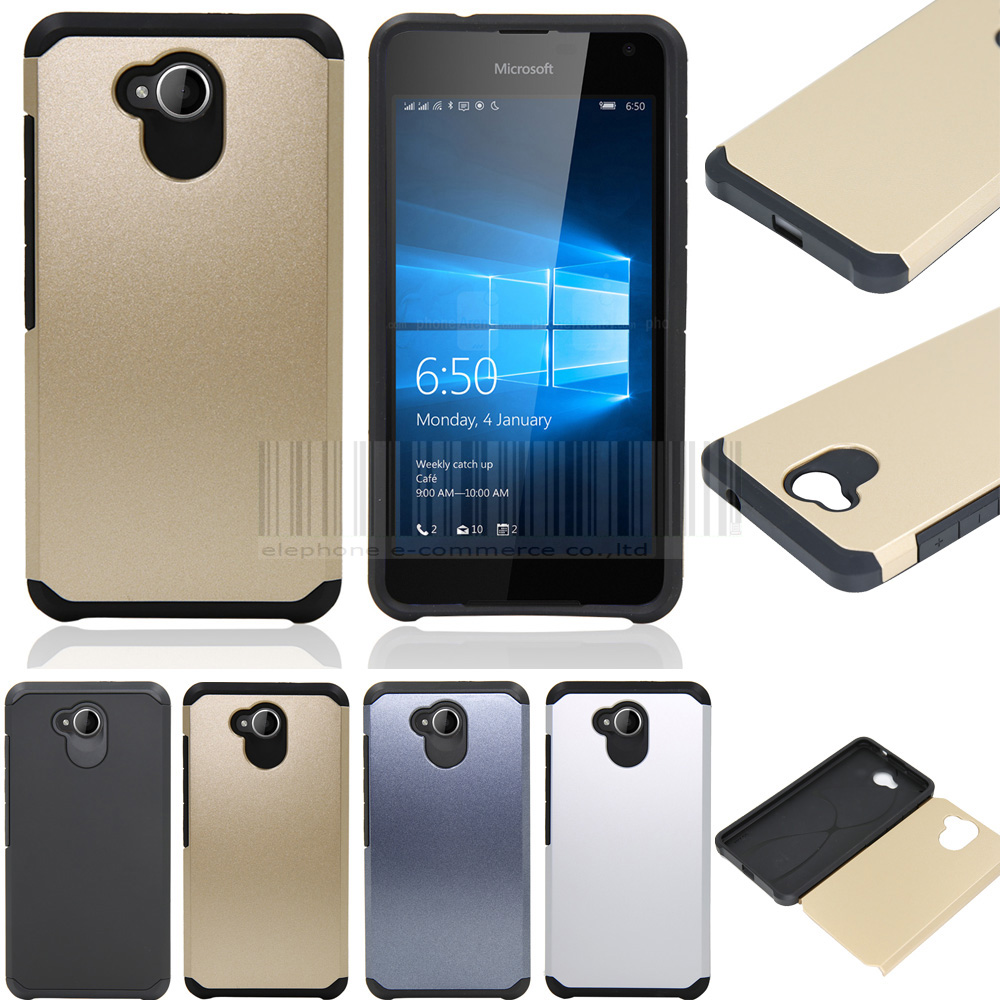 Slim Armor Tpu Pc Impact Protective Back Hard Case Cover Skin With Fleksibel Home Button Iphone 7g 7p Without Films Stylus For Nokia Microsoft Lumia 650