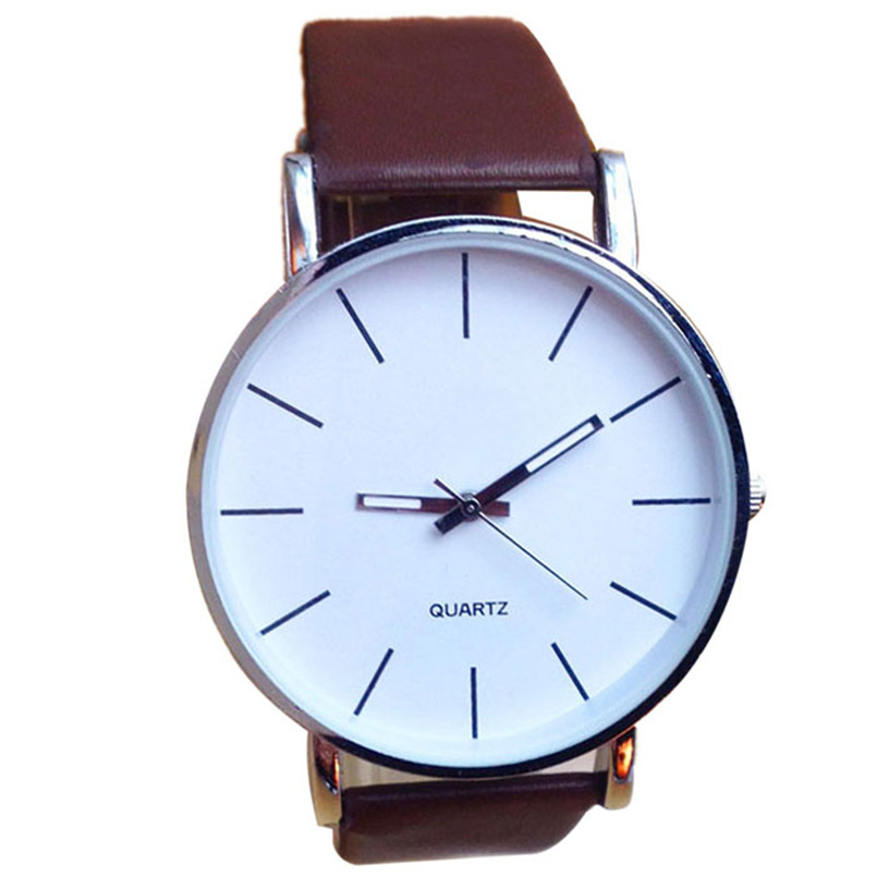 2016 fashion big watches simple style