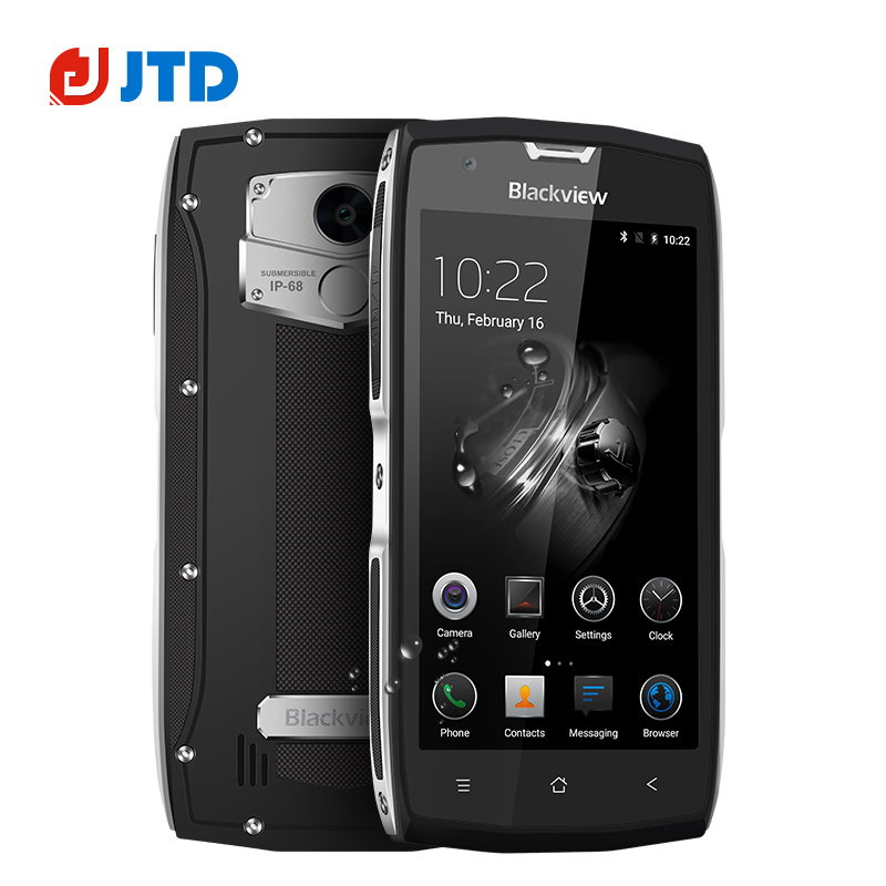 bilder für Blackview BV7000 Pro IP68 Wasserdichte Smartphone 5,0 Zoll Android 7.0 Octa Core GPS Glonass 4 GB + 64 GB 3500 mAh 4G LTE Handy