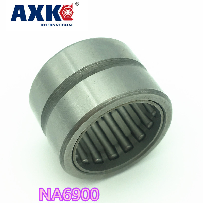 2018 Real Sale Steel Na6900 Bearing 10*22*22 Mm ( 1 Pcs ) Solid Collar Needle Roller Bearings With Inner Ring 6534900 6254900/a na6916 heavy duty needle roller bearing entity needle bearing with inner ring 6534916 size 80 110 54