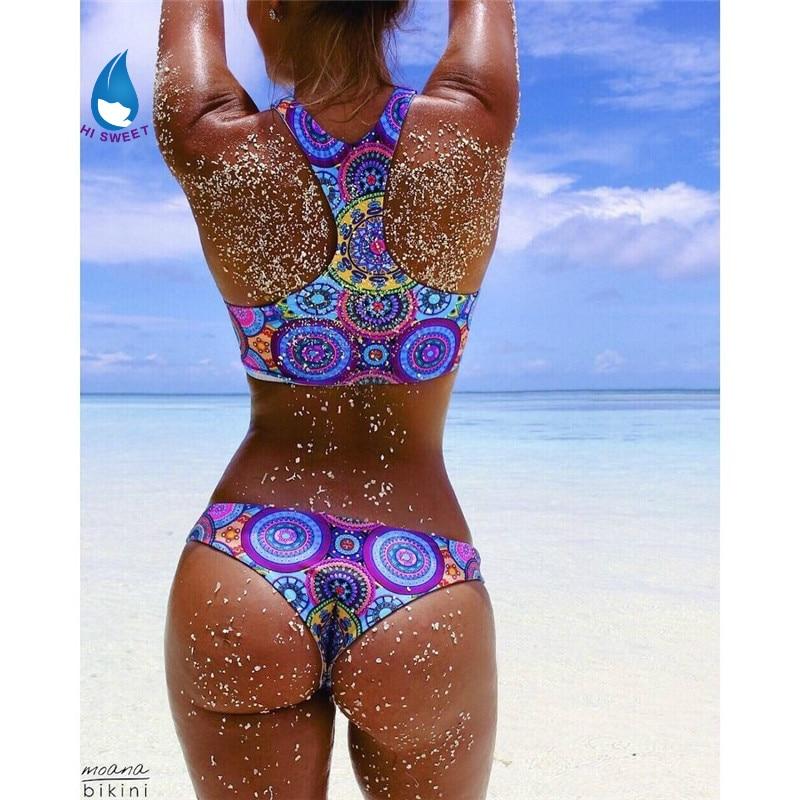2016 Swimsuit Tankini Trikini Women Sexy Swimwear Triathlon madala High Waist Doc Praia Bikini font b