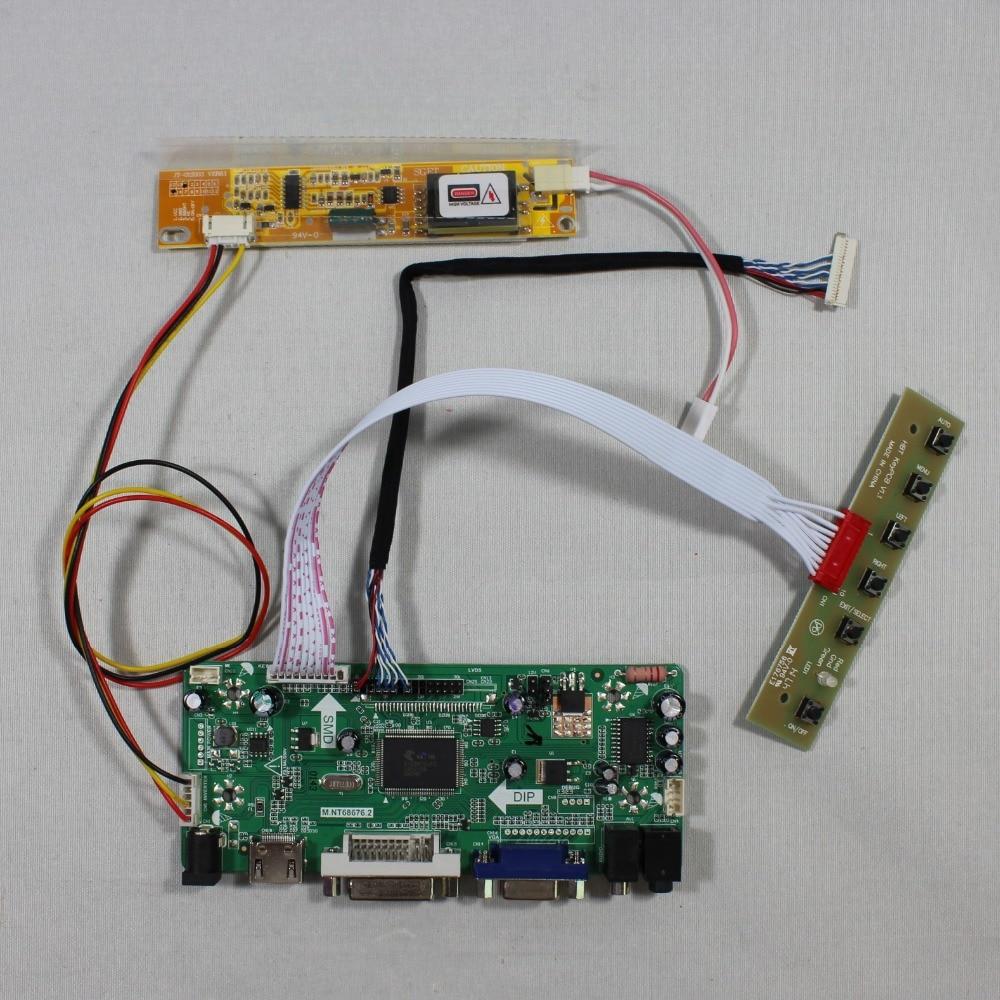 все цены на HDMI VGA DVI Audio lcd Controller board for 12.1inch LTD121EX1R 1280x768 lcd онлайн