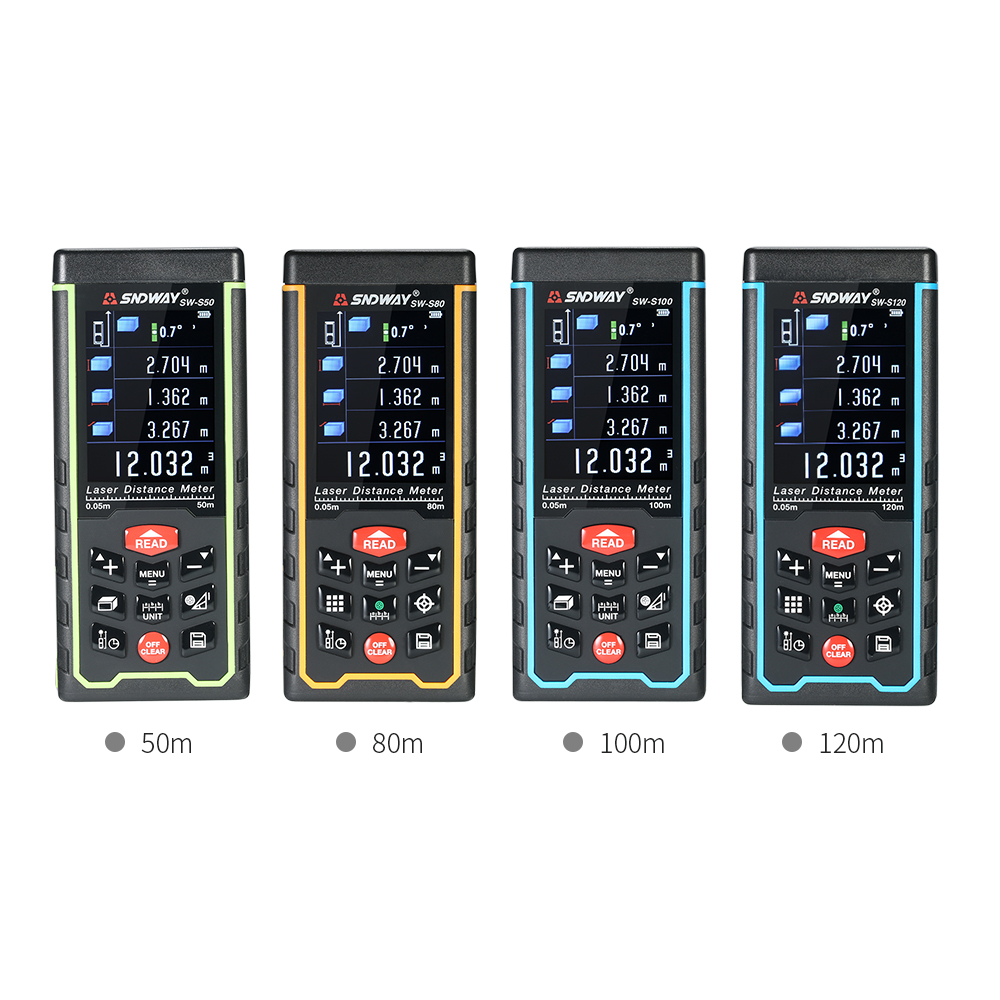 120/100/80/50m Mini Handheld LCD Digital Laser Distance Meter USB Range Finder Distance Area Volume Measurement for sony vpceh35yc b vpceh35yc p vpceh35yc w laptop keyboard