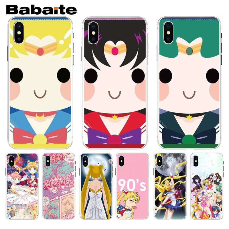 Phone Bags & Cases Well-Educated Babaite Lovely Cute Sailor Moon Cartoon Colorful Drawing Phone Case For Iphone 5 5s 5c Se And 6 6s 7 7plus 8 8plus Phone Case