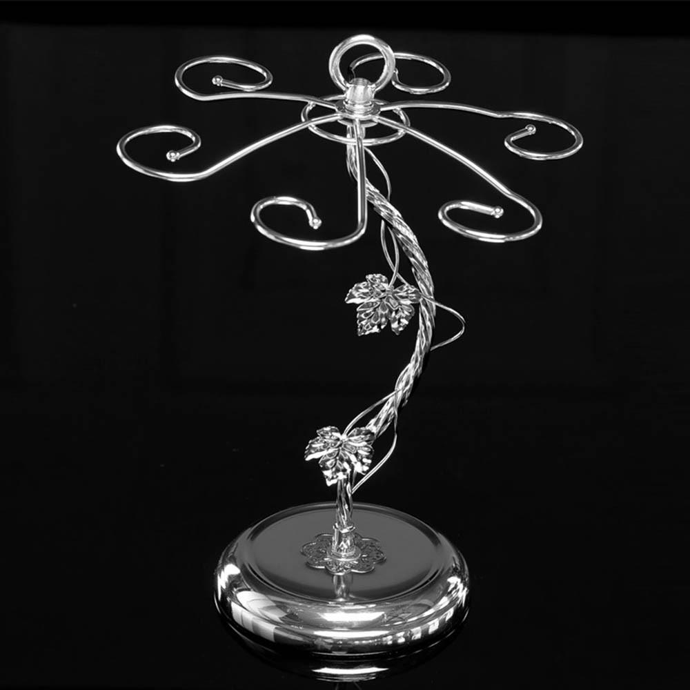 Fashion Decorative Metal Modern Hanging Wine Glass Racks Wine Cabinet Wedding Decor Gift Wine Glass Holder Wine Accessories KC1284 (2)