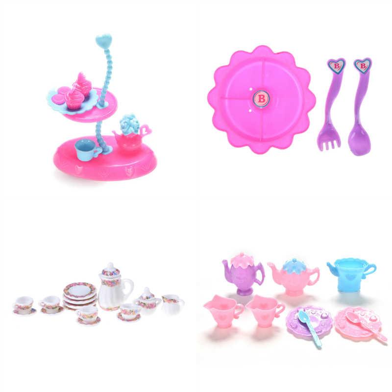 1 компл.. Моделирование миниатюрный розовый шкаф пианино стол кровать Ванна Обувь Кабинет миниатюрная мебель наборы для ухода за кожей