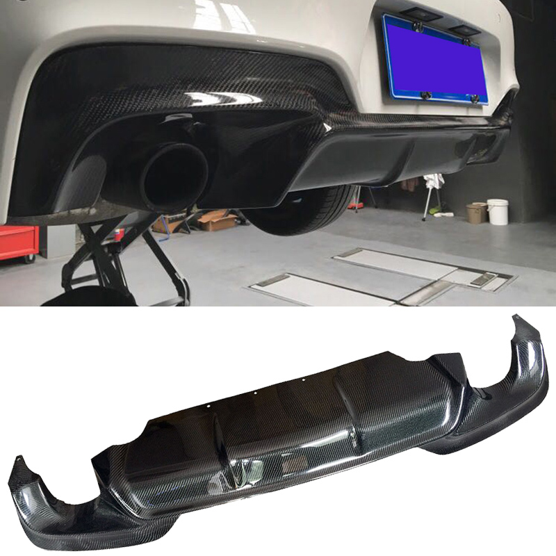 Unilaterale di esportazione In fibra di Carbonio Diffusore Posteriore Fit For BMW 6-Series F06 F12 F13