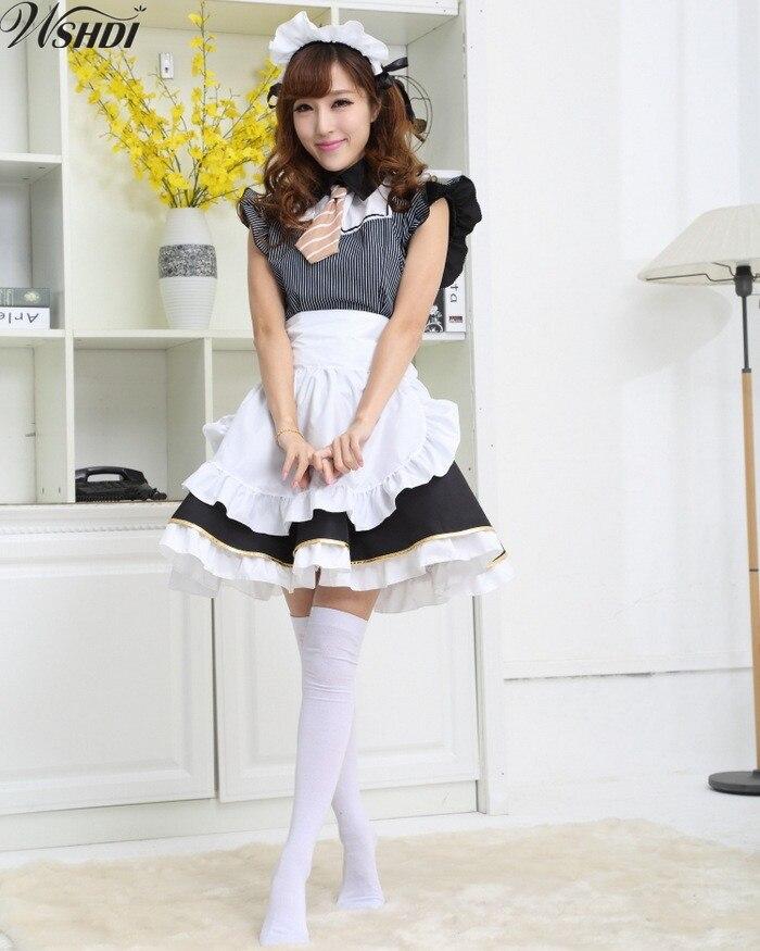 Cute Japanese Anime costume Love Live kousaka honoka Candy maid uniform Princess Vintage Lolita dress cosplay costume