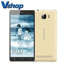Оригинальный vkworld T3 ПЗУ 16 ГБ ОЗУ 2 ГБ 5.0 дюймов Android 5.1 металлический каркас смартфона MTK6735 Quad Core 4 г LTE Dual SIM с пленкой