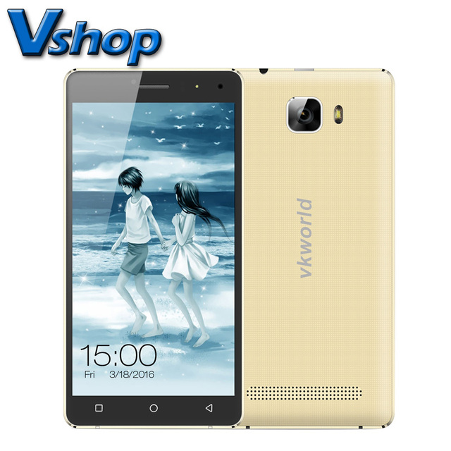 Original VKworld T3 ROM 16GB RAM 2GB 5.0 inch Android 5.1 Metal Frame Smartphone MTK6735 Quad Core 4G LTE Dual SIM with Film