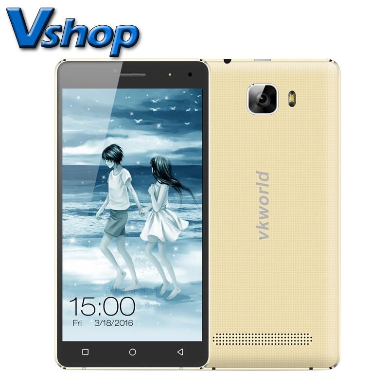 Galleria fotografica D'origine VKworld T3 ROM 16 GB RAM 2 GB 5.0 pouce Android 5.1 métal Cadre <font><b>Smartphone</b></font> MTK6735 Quad Core 4G LTE Dual SIM avec Film
