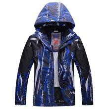 2016 New Ski Jacket Men Waterproof Winter Snow Jacket Thermal Coat For Outdoor Mountain Skiing Snowboard Jacket Brand
