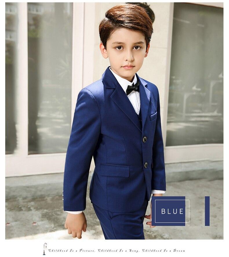 5pcs / Σετ Αγόρια Κοστούμια Για Γάμους - Παιδικά ενδύματα - Φωτογραφία 2