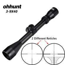 Ohhunt 3-9X40 охотничья воздушная винтовка область провода дальномер Сетка арбалет или Mil точка сетка Riflescope тактические оптические прицелы