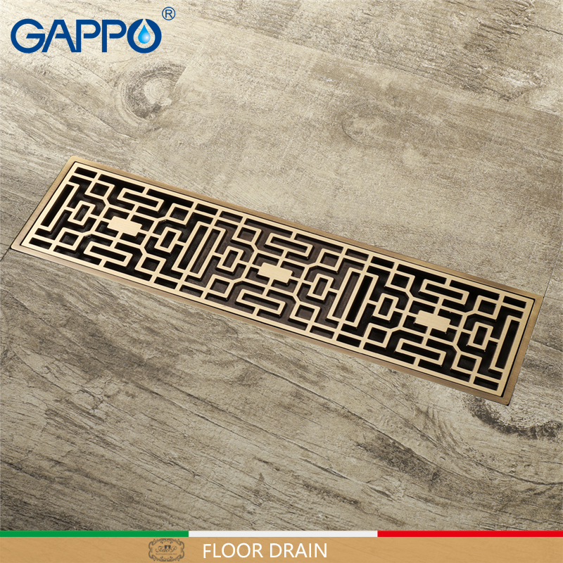 GAPPO Drains Bathroom Floor Anti-odor Drainers bathroom drains stoppers Bath Shower Drainer Strainers