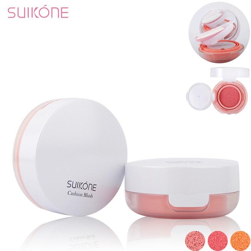 NAQIER Makeup Air Cushion Blush Makeup Mineralize Blusher Cheek Sleek Cosmetics Soft Powder Make Up Nude Maquiagem