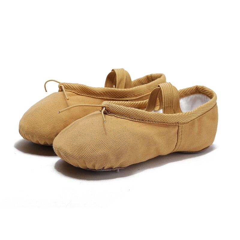 Blomstens Secret Canvas Soft Ballet Shoes Dansskor Yoga Shoes Barnens - Gymnastikskor - Foto 2
