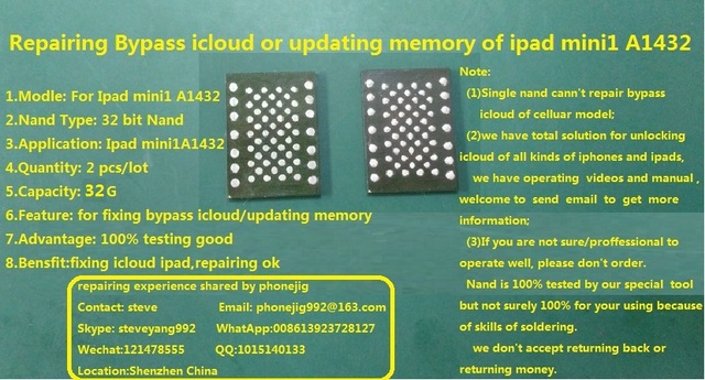 unlock ipad mini using serial number