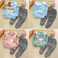 Monkids Girls Clothing Sets 2017 New Boys Clothing Sets Children Baby Boys Girls Clothing Sets Kids Clothes Baby Suit Outfit