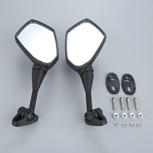 Motorcycle Rearview Mirrors Black For Honda CBR900 CBR600RR CBR1000RR CBR600 CBR400 NSR250 HYOSUNG