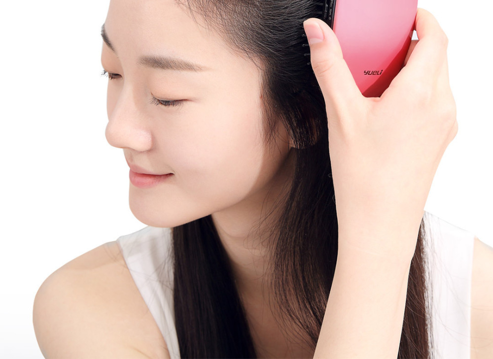 Xiaomi Comb Mi Home yueLi Portable Brush Care Beauty Anion Hair Care Scalp Massage Anti-static Comb Salon Styling Tamer Tool H15 (19)
