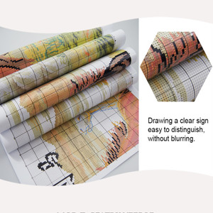 Image 4 - Everlasting Love TigerครอบครัวจีนCross Stitchชุดผ้าฝ้ายนิเวศวิทยาประทับตรา14 11CT DIYของขวัญตกแต่งปีใหม่สำหรับHome