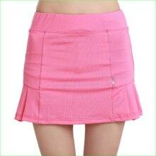Женская юбка для настольного тенниса, дышащая, для бадминтона, волейбола, бега, гольфа, трапециевидной формы, юбки хорошего качества