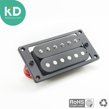 цены 2PCs(1 set)Humbucker Double Coil Electric Guitar Pickups+Frame Screw