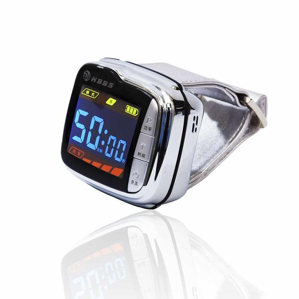 Hot sale digital high blood pressure laser therapy watch