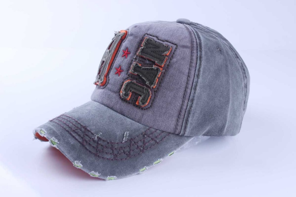 8ee49ffa057 New brand baseball cap mens gorras snapback caps sports hat printed cap  fashion raw edges jeans visor hat outdoors sun hat-in Baseball Caps from  Apparel ...