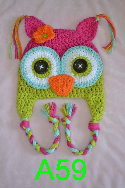 Aliexpress Buy Free Shipping 200pcslot Baby Crochet Owl Hat