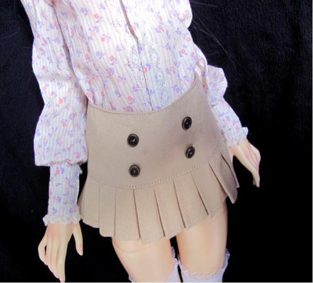 Bjd одежды куклы SD короткая юбка