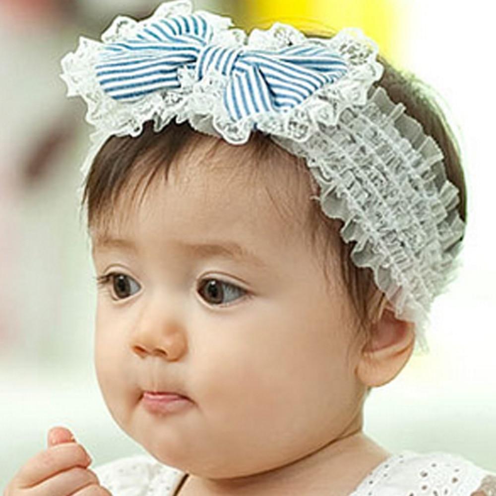 Hair accessories singapore - Bargain Korean Baby Girls Lace Bow Hair Band Head Flower Headdress