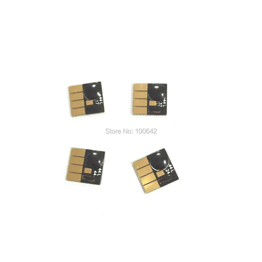 YOTAT 1set Permanent chip for HP 980XL HP980XL HP 980 HP980 for HP Officejet Enterprise Color